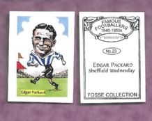 Sheffield Wednesday Edgar Packard 23 (FC)